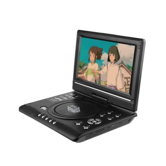 AIHONTAI® 9.8- LCD Lecteur DVD Lecteur de téléviseur portable Lecteur de DVD avec lecteur de carte USB-SD ID201