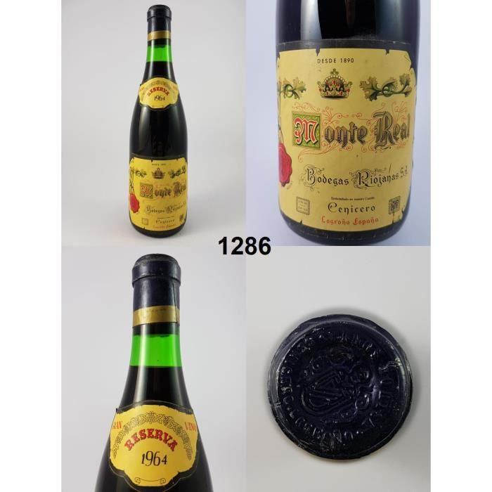 Monte Real Reserva 1964 - N° : 1286, Rioja, Rouge
