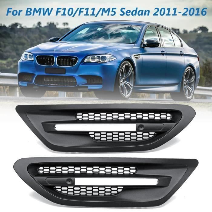 Paire de Grilles pour BMW F10-F11 M5 Sedan 11-16 Bo47533