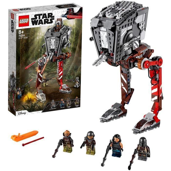 Jeux de construction LEGO®-Star Wars™ AT-ST™ Raider Jouet Garçon et Fille 8 Ans et Plus, 540 Pièces 75254 52632