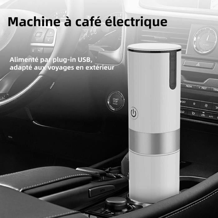 Mini machine à café électrique portable ménagère Machine à café USB Blanc HB001