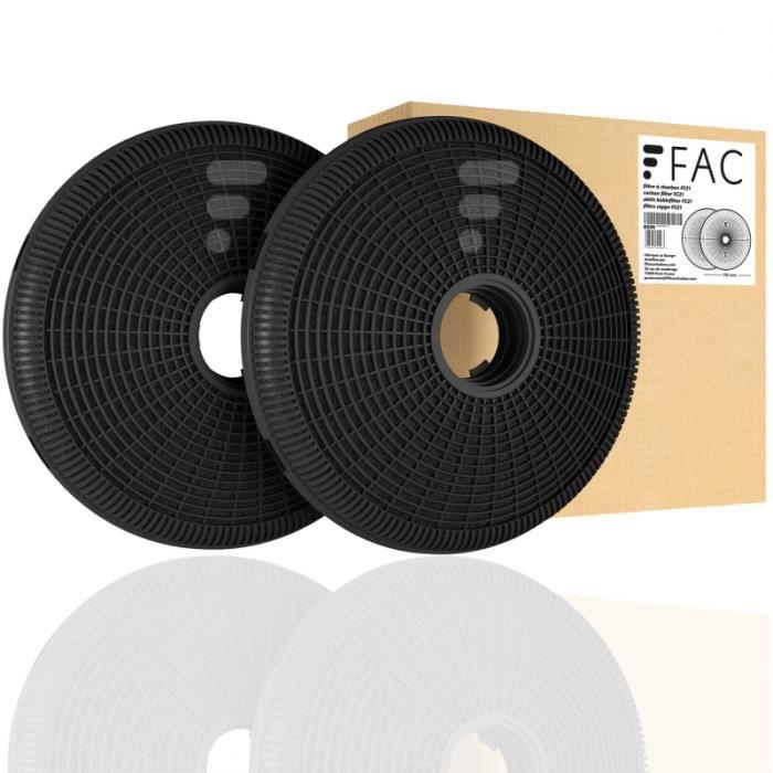 FC21 - filtre à charbon compatible hotte Candy CBG 6250 X