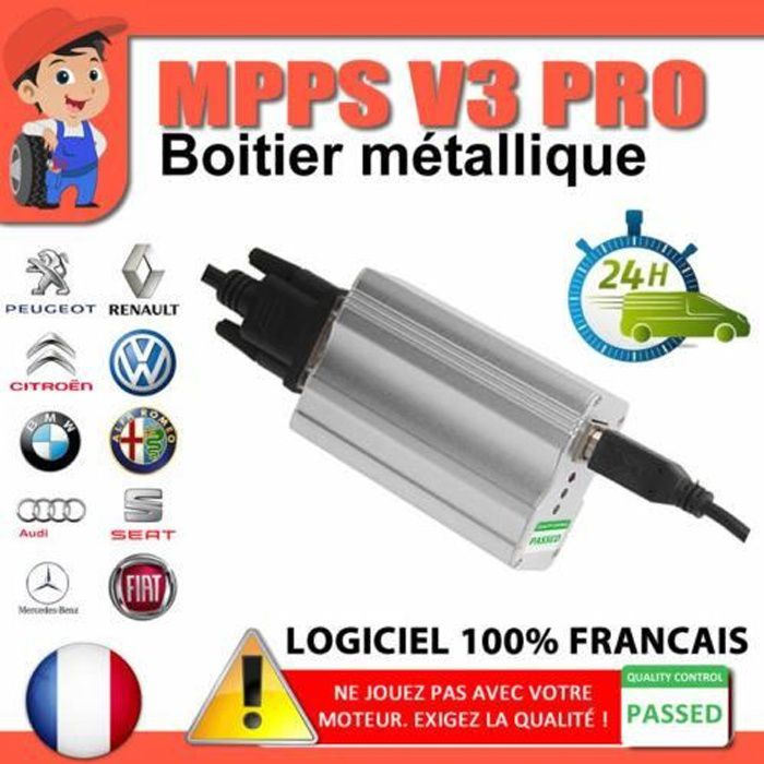 VALISE PROGRAMMATION MULTIMARQUES - MPPS V3 PROFESSIONNEL by Mister Diagnostic®