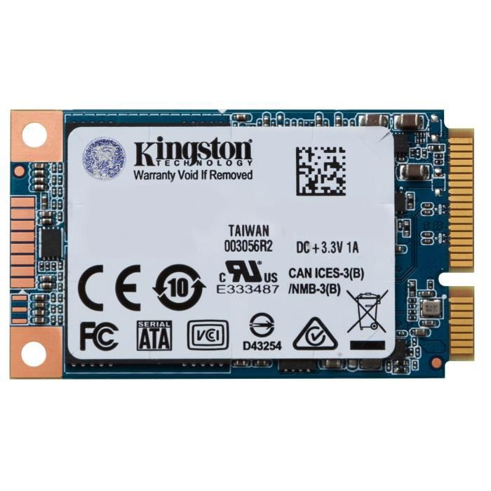 KINGSTON Mémoire PC 120Go SSD - UV500 mSATA