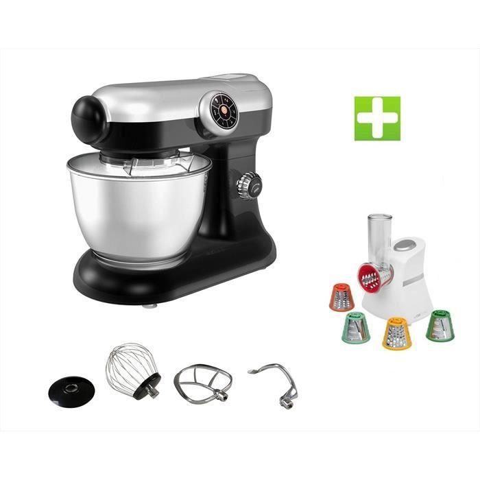 Le Pack Robot Pétrin Pâtisser Multifonctions Kitchen MIX KM184MEX Professional + Magic Hachoir Multi Express
