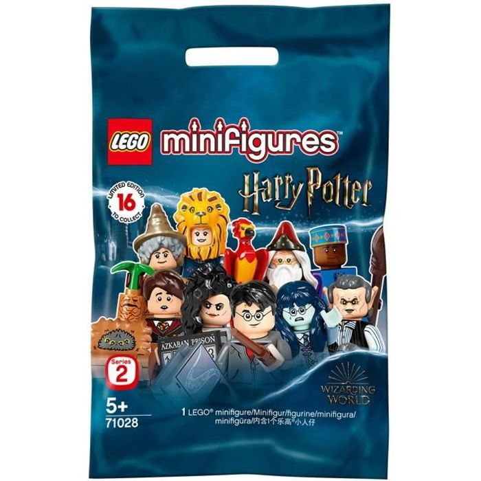 LEGO® Minifigurines™ 71028 Harry Potter Série 2 - Sachet 1 figurine