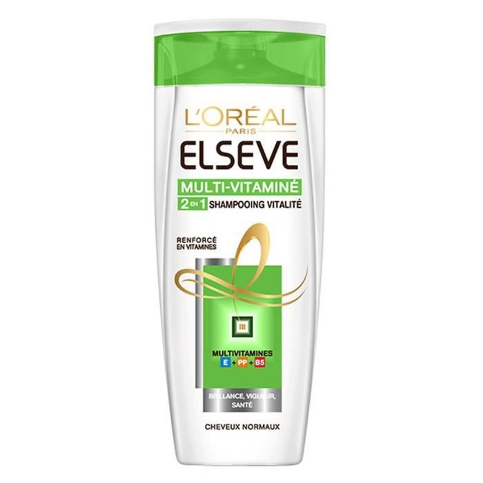 Shampooing multi-vitaminé 250 ml L'Oréal Paris