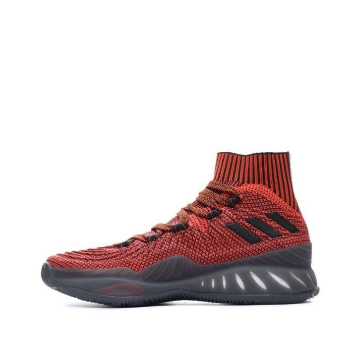 Crazy Explosive 2017 Prime Knit Chaussures Basketball Rouge Homme Adidas