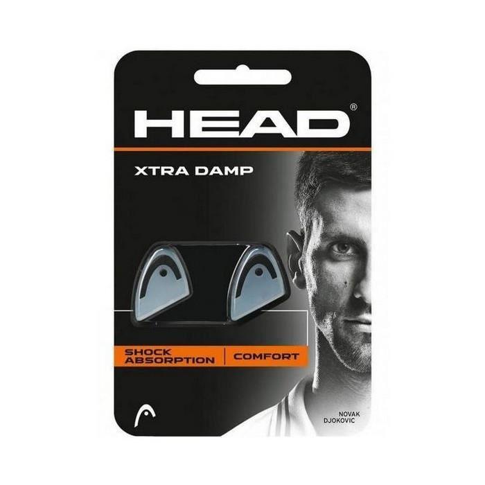Accessoires de tennis et de padel Style antivibrateur head xtra damp caoutchouc gris