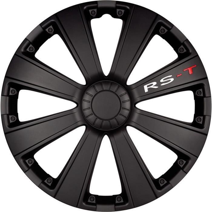 POLAIRE Enjoliveur Racing RST Noir 16-