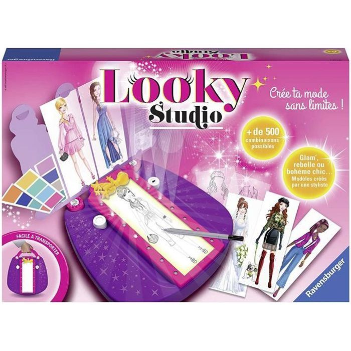 LOOKY Studio Ravensburger - Crée ta mode sans limites !