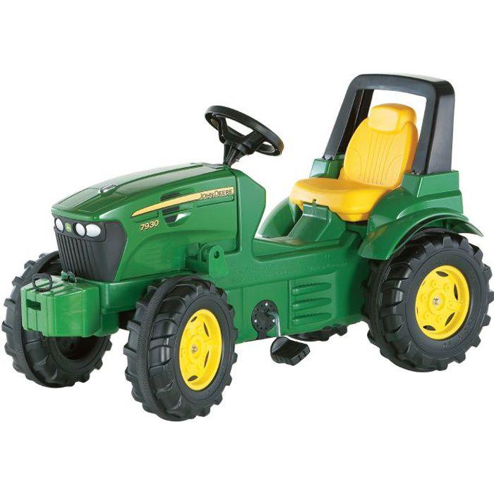 Tracteur à pédales JOHN DEERE 7930 Série Rolly Fa…