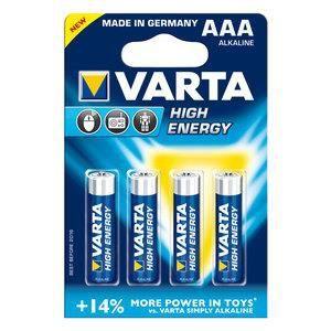 Pile alcaline LR03 AAA High Energy VARTA
