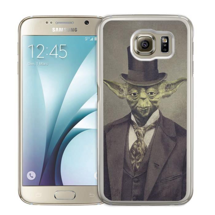 Coque Samsung Galaxy S4 : Star Wars Vintage - Yoda