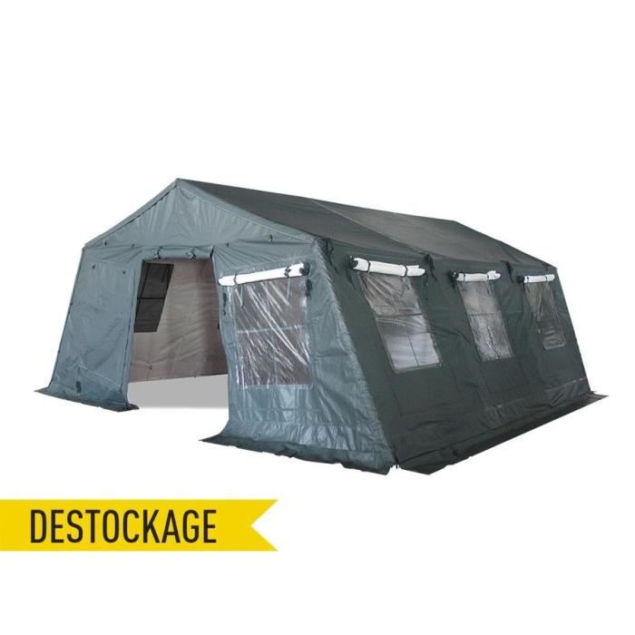 tente militaire camping 5x6 2m pvc 750g m tanche achat vente tonnelle barnum tente. Black Bedroom Furniture Sets. Home Design Ideas