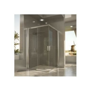 paroi de douche angulaire dion seviban 180 cm mate achat vente douche receveur paroi de. Black Bedroom Furniture Sets. Home Design Ideas
