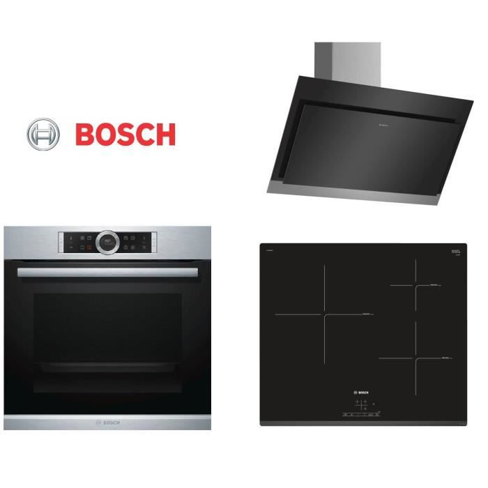 bosch pack cuisson hbg675bs1f four pij631bb1e table electrom nager. Black Bedroom Furniture Sets. Home Design Ideas