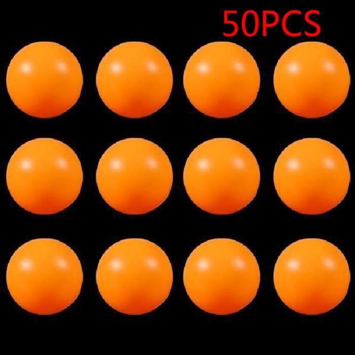 TABLE TENNIS DE TABLE 50 pcs 40mm Enfants Ping Pong Boules Formation PE