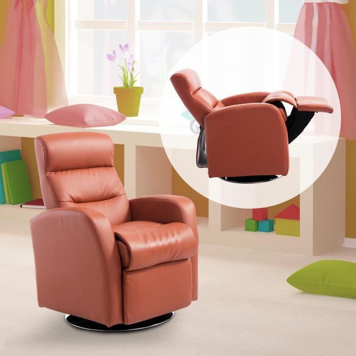 Homcom Canap/é et Pouf Design Contemporain pour Enfants /à partir de 3 Ans Rose