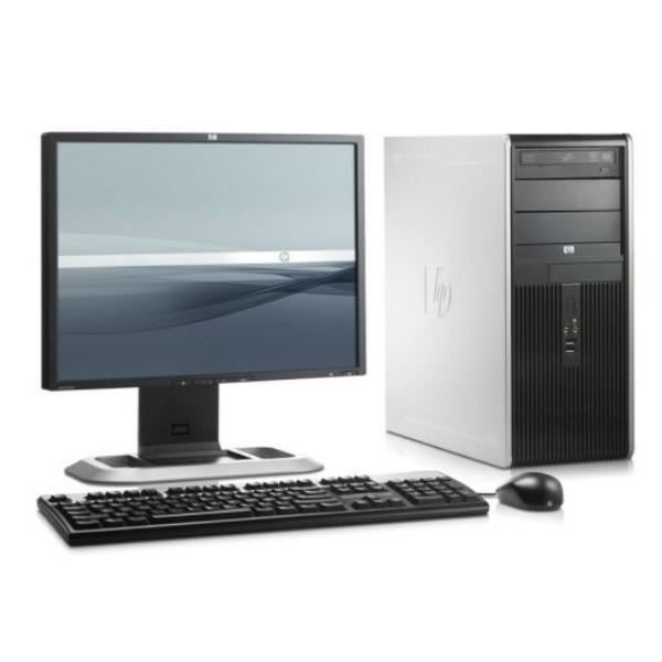 lot pc hp compaq dc5750 tour amd sempron 2ghz 2go ddr2. Black Bedroom Furniture Sets. Home Design Ideas