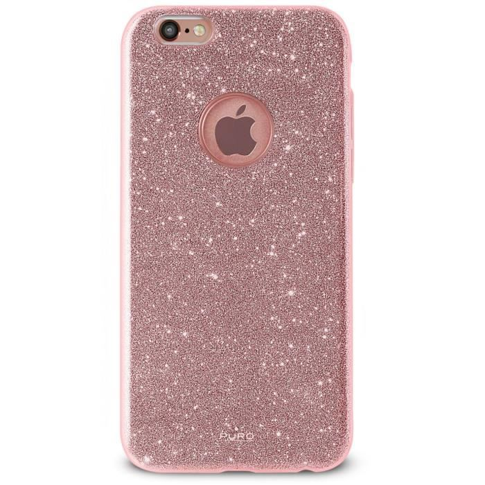coque iphone 7 pailette brillante