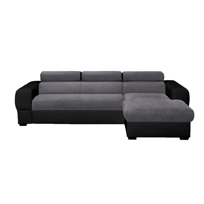 canap d 39 angle droit convertible coffre switsofa deep. Black Bedroom Furniture Sets. Home Design Ideas