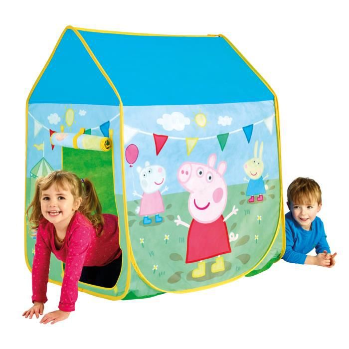 tente de jeux peppa pig achat vente tente tunnel d 39 activit cdiscount. Black Bedroom Furniture Sets. Home Design Ideas