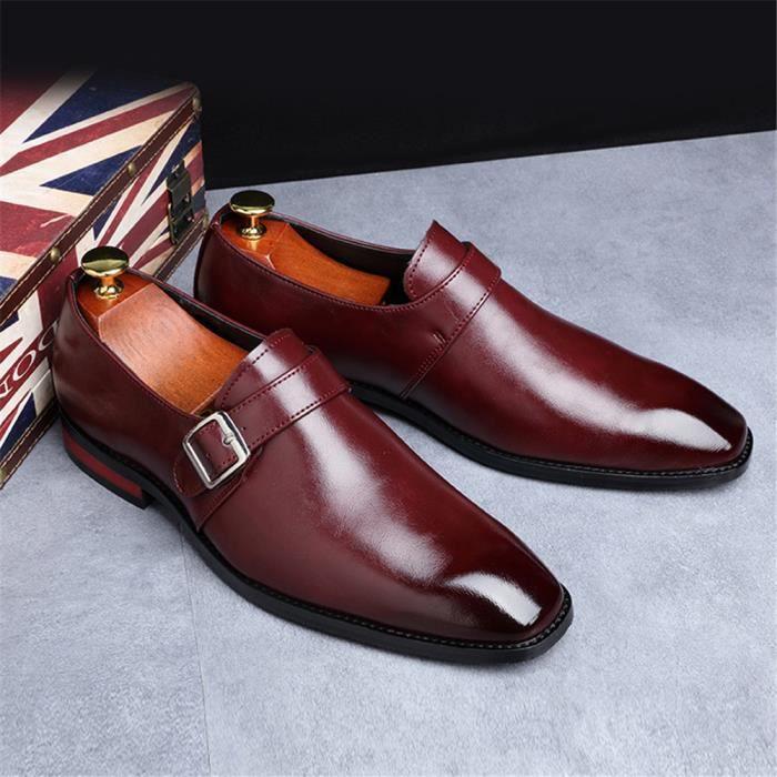 Derby Homme-RCVZS6 - Chaussures de mariage-soiré décontractées - chaussure en cuir