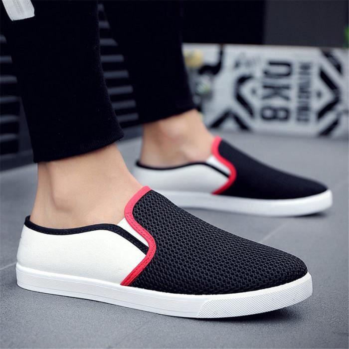 Style Mode chaussure Homme Respirant chaussures en toile homme chaussures homme La Mode