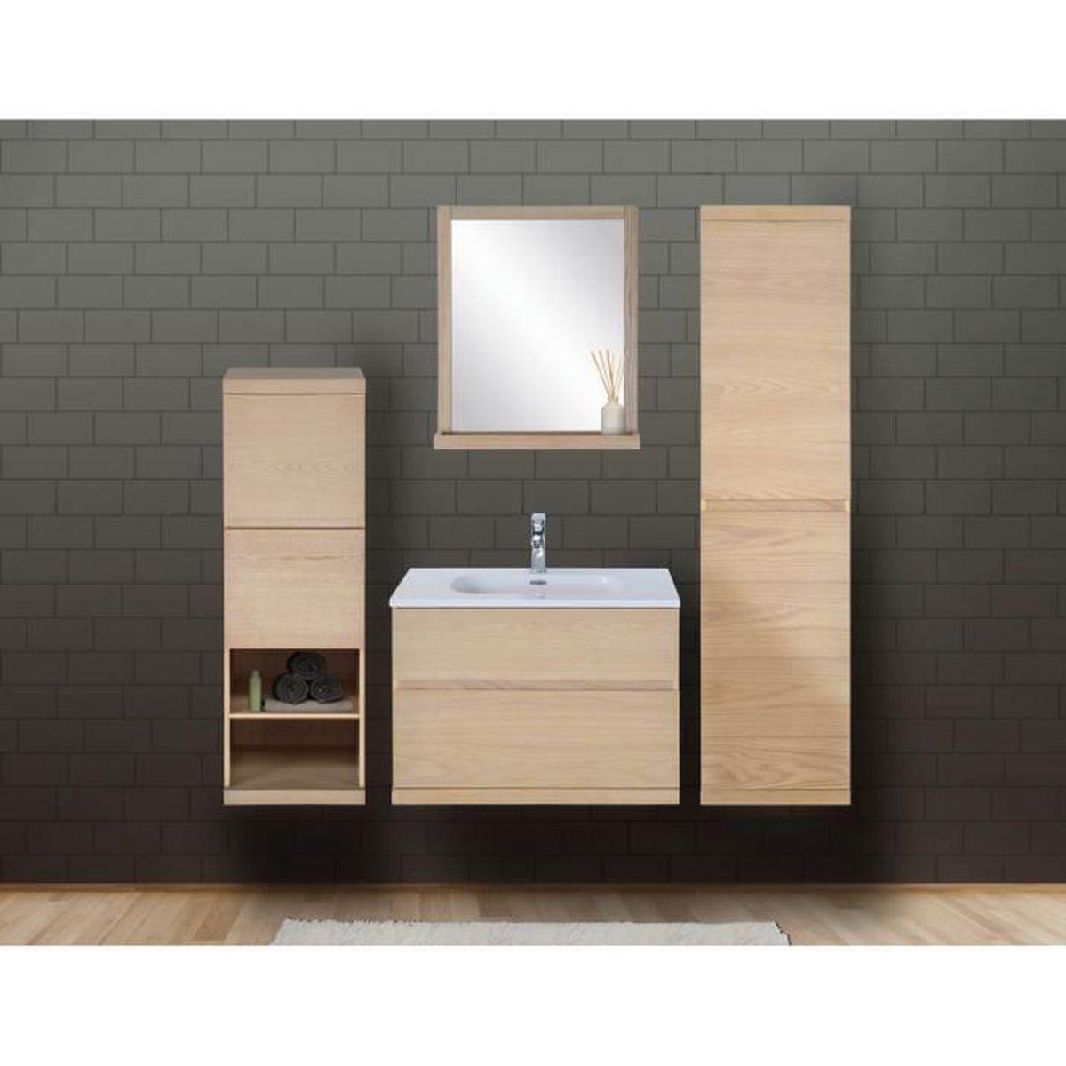 Tablette Salle De Bain 80 Cm ensemble meuble salle de bain avec vasque 80 cm colonne