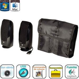 ENCEINTES ORDINATEUR Logitech enceintes USB 2.0 - S150