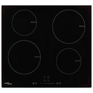 PLAQUE INDUCTION LIA Plaque de cuisson à induction 4 brûleurs Contr