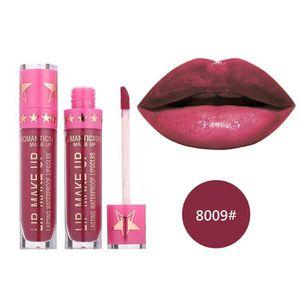ROUGE A LEVRES  Rouge à lèvres romantique mai imperméable Long Lasting Matte liquide Rouge à lèvres cosmétiques BIO#3198