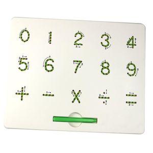 CONSOLE ÉDUCATIVE Tableau d'aimant de nombre - lettre pour la tablet
