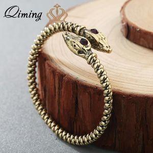 SAUTOIR ET COLLIER  Ouvert Manchette Bijoux Jormungandr Viking Bracel