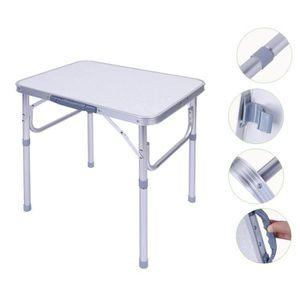 Lifetime Table Pliable Durable à Hauteur Ajustable 4ft ...