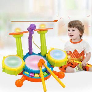 INSTRUMENT DE MUSIQUE Enfants Jouet Tambour Set Instruments de musique é
