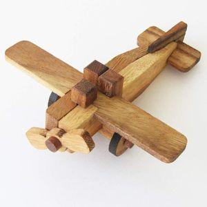 CASSE-TÊTE Puzzles en bois AVION - jeu casse tête à partir de