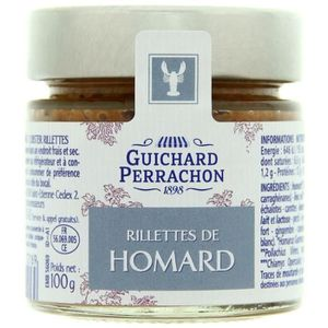 PATÉ - TERRINE GUICHARD PERRACHON Rillette de homard - 100 g (Lot