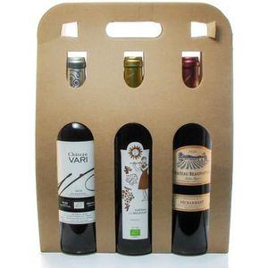 VIN ROUGE Coffret 3 Bouteilles de Vin de Bergerac Rouge 3x75