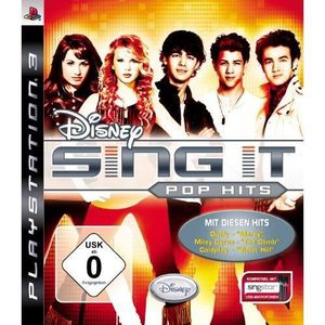 JEU PS3 DISNEY SING IT - POP HITS [IMPORT ALLEMAND] [JE…