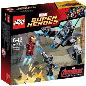 ASSEMBLAGE CONSTRUCTION LEGO® Super Heroes 76029 Iron Man Contre Ultron