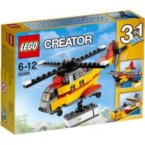 ASSEMBLAGE CONSTRUCTION LEGO® Creator 31029 L'Hélicoptère Cargo