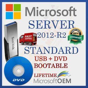 SYSTÈME D'EXPLOITATION Microsoft Windows Server 2012-R2 Standard | Lecteu