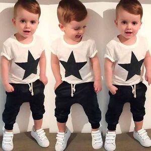 Ensemble de vêtements 1111985Les tout-petits enfants bébés garçons Star