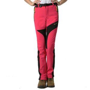 SOFTSHELL DE SPORT Pantalon Softshell Femme Hiver de Extérieur Sports