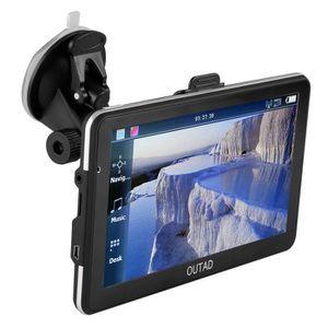 GPS AUTO Affichage LCD Navigation GPS 7 pouces Carte mémoir