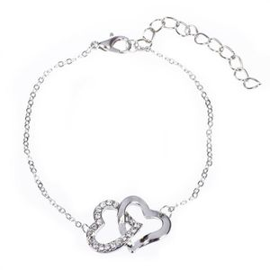 bracelet femme coeurs