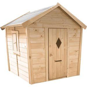 MAISONNETTE EXTÉRIEURE Cabane en bois pour enfant  PAULINE