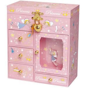 armoire bijoux musicale petite princesse achat. Black Bedroom Furniture Sets. Home Design Ideas